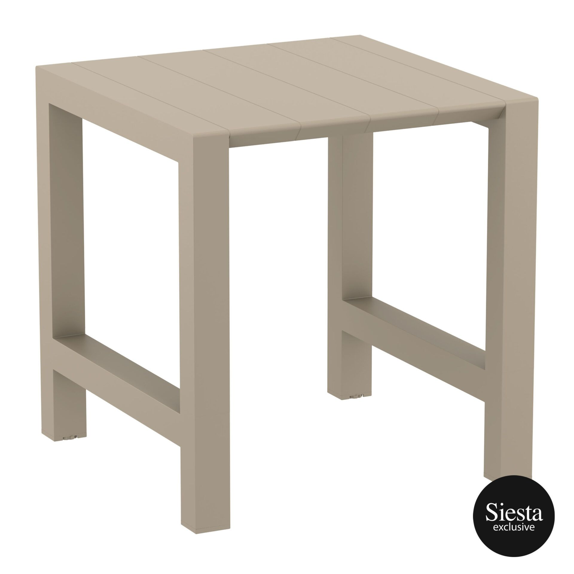 008 vegas bar table 100 taupe front side