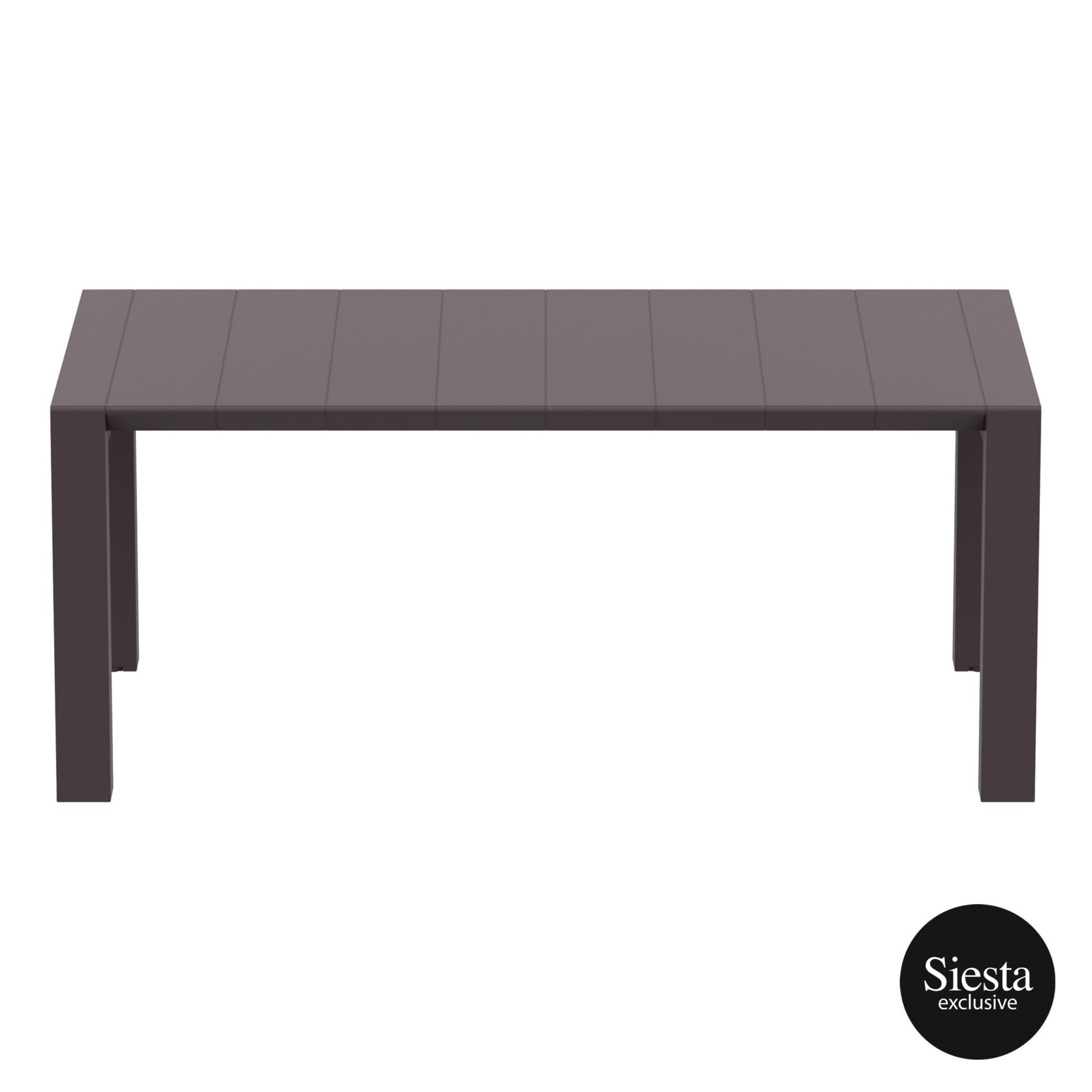008 vegas medium table 180 rattan brown long edge