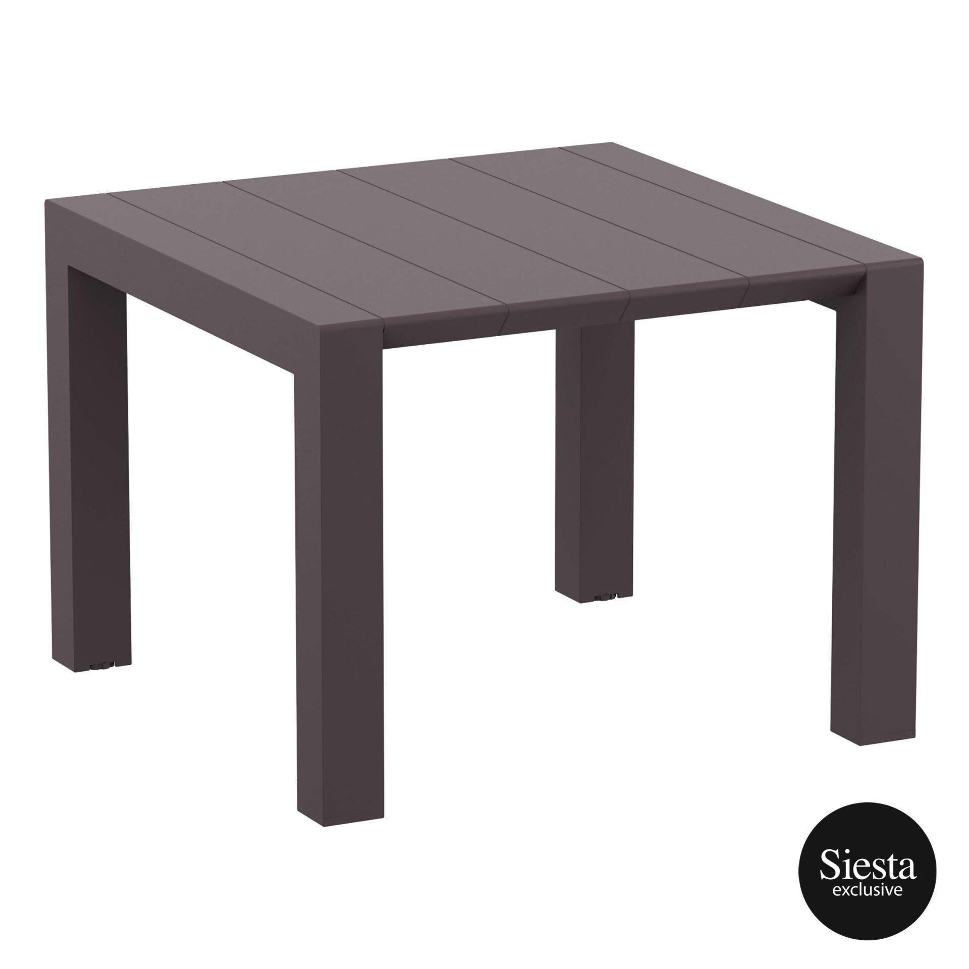 008 vegas table 100 rattan brown front side