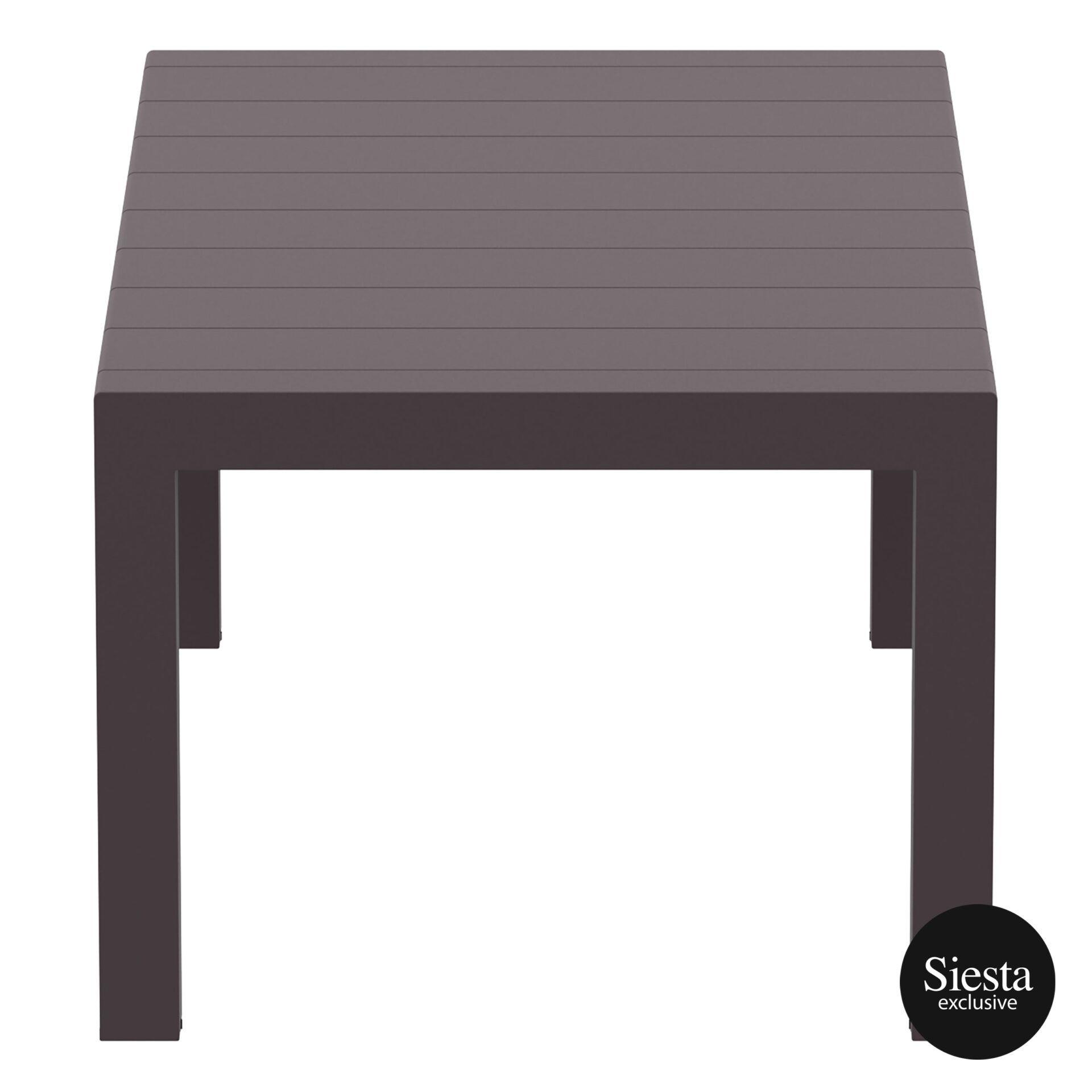 009 vegas medium table 180 rattan brown short edge
