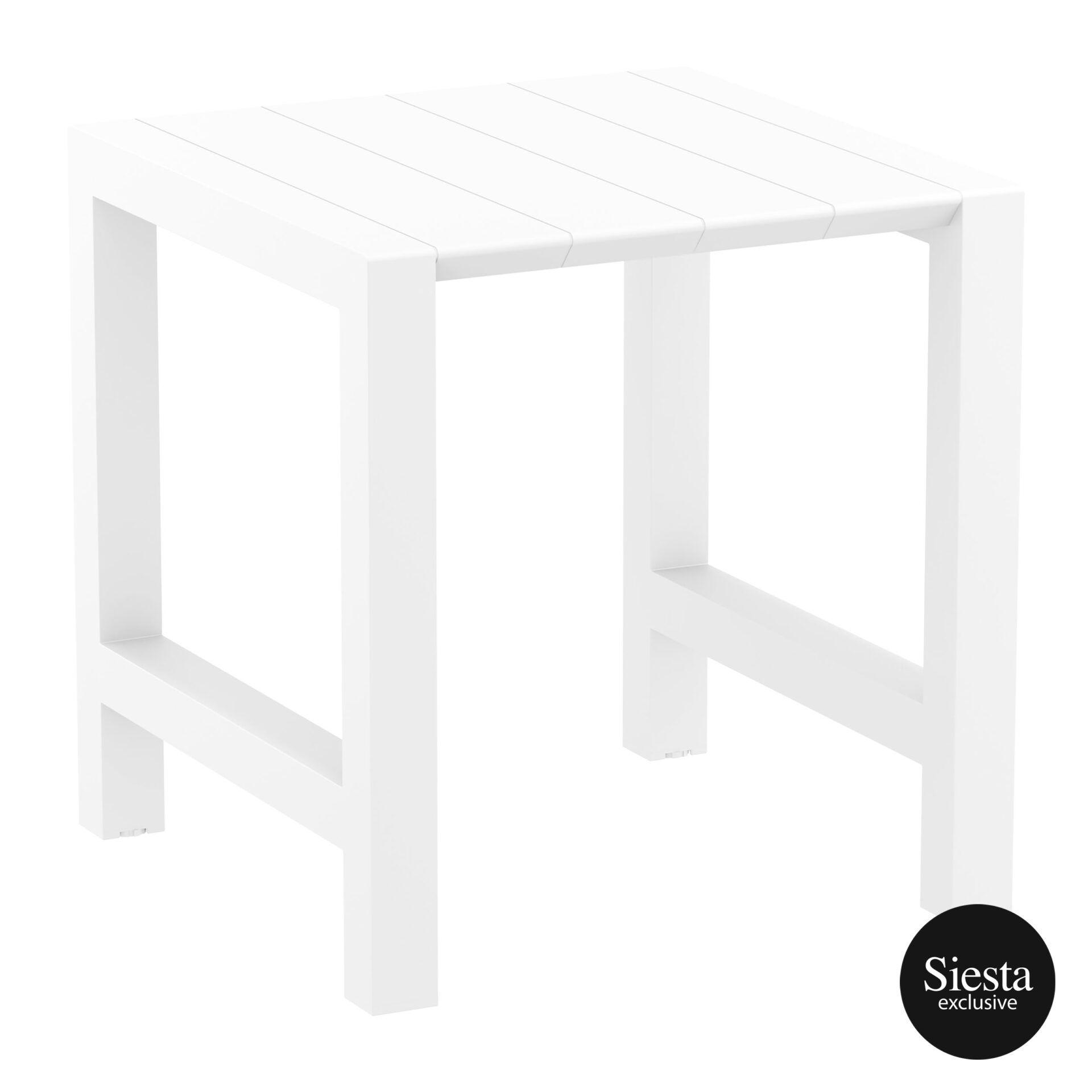 011 vegas bar table 100 white front side