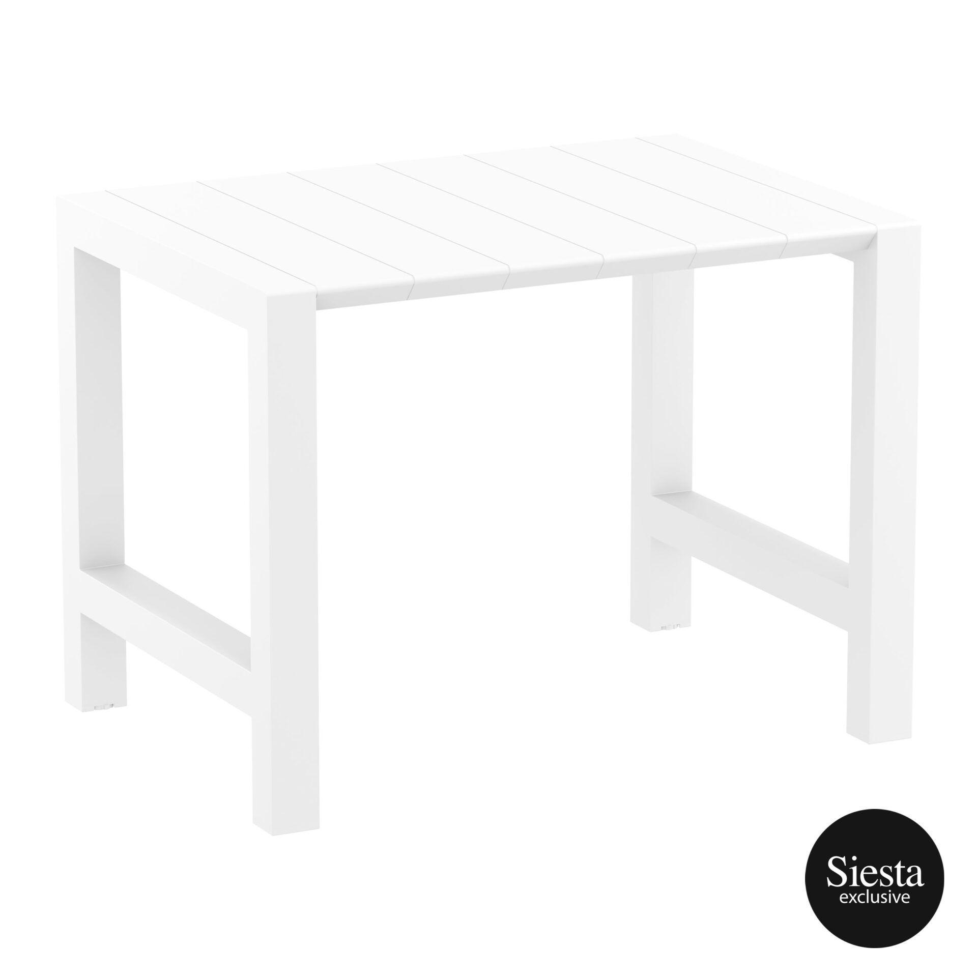 014 vegas bar table 140 white front side