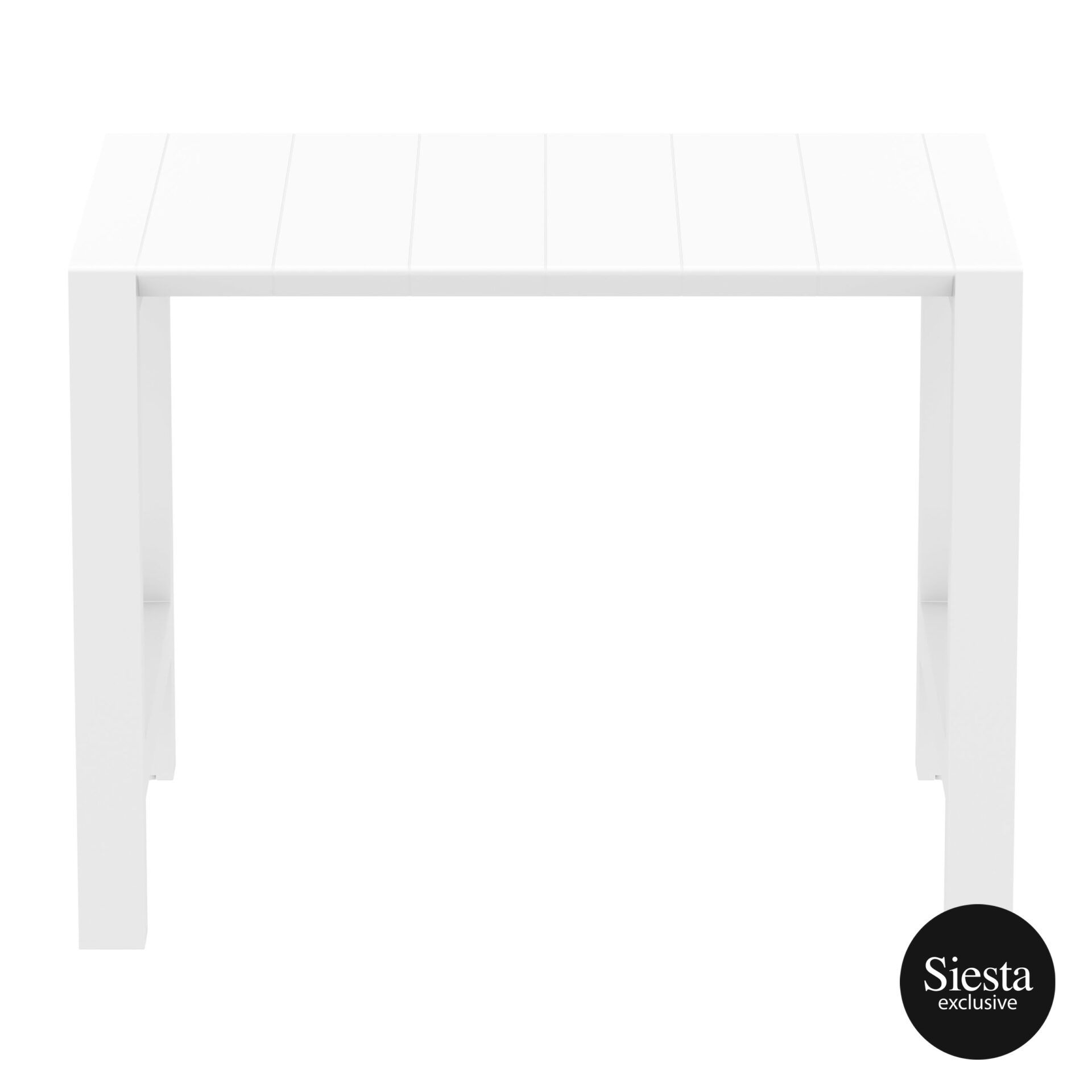 015 vegas bar table 140 white long edge