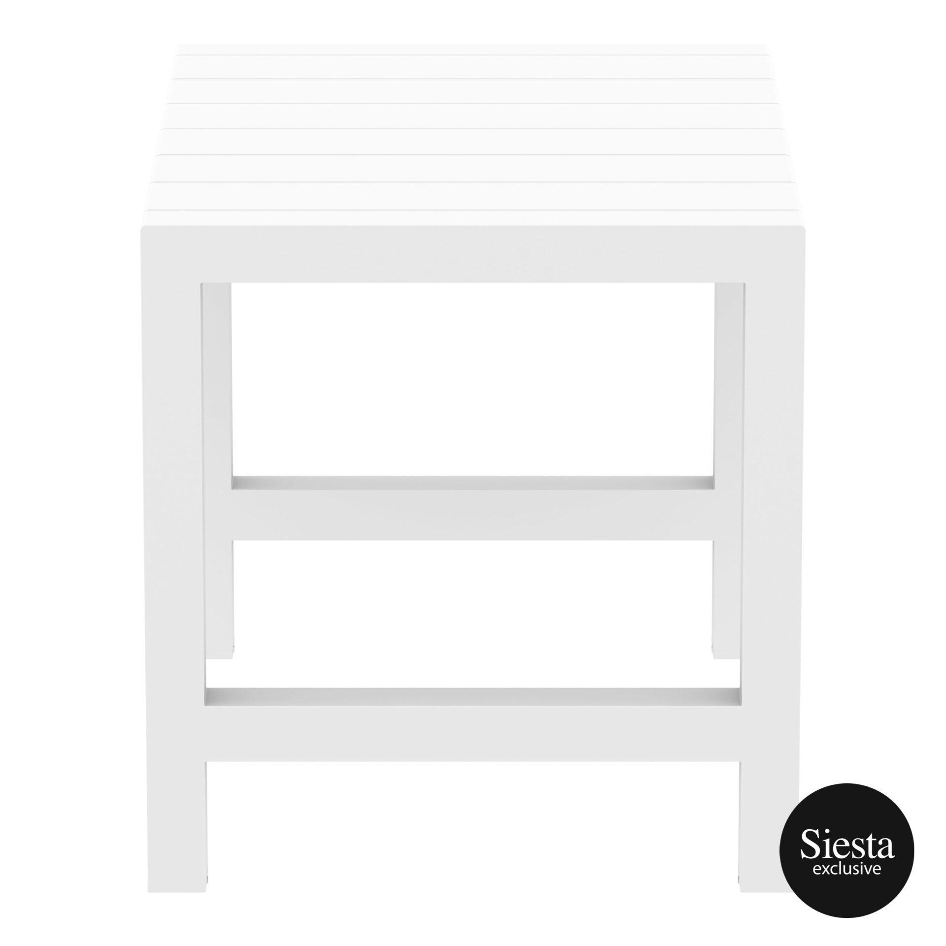 016 vegas bar table 140 white short edge