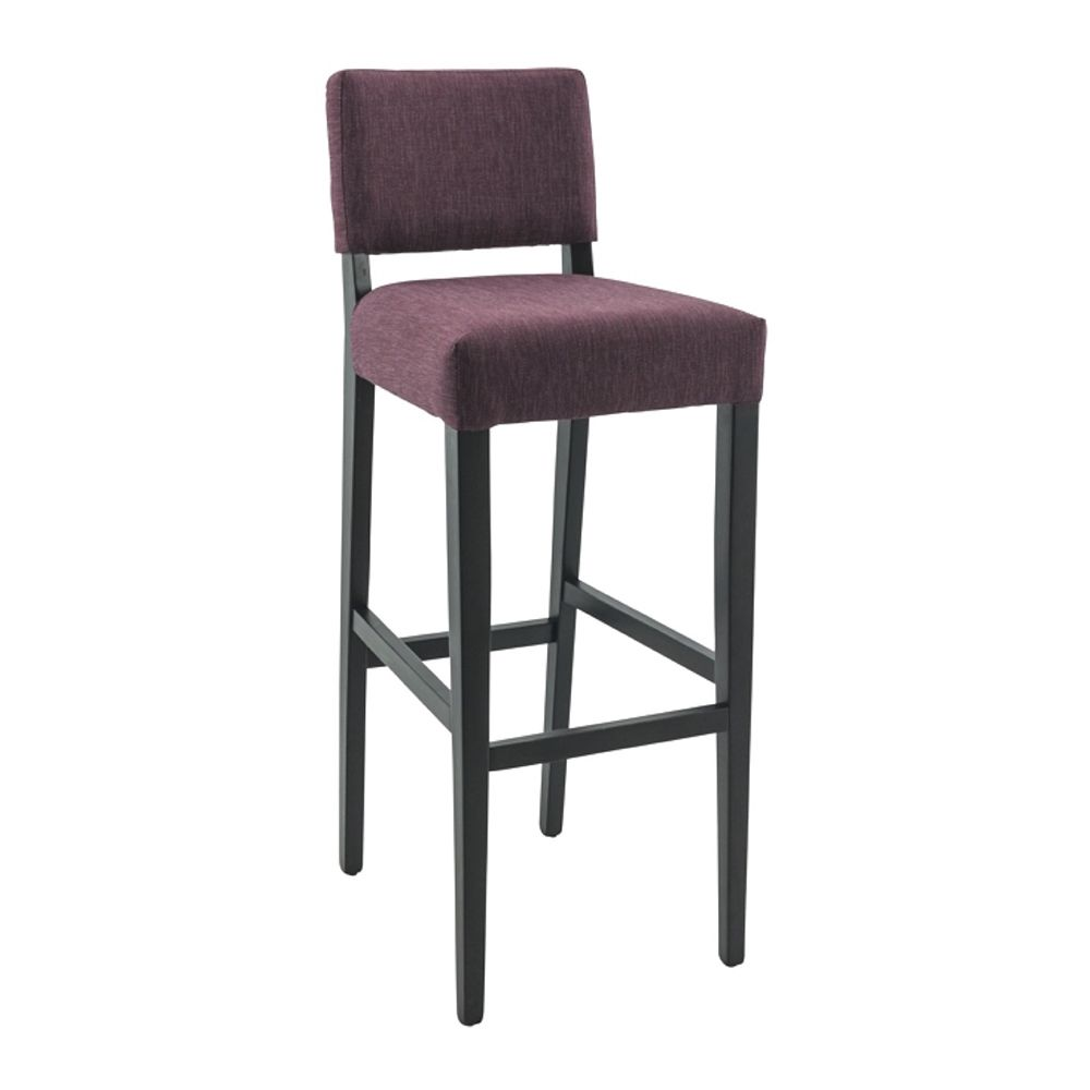 307.reuban uph seat back stool sq