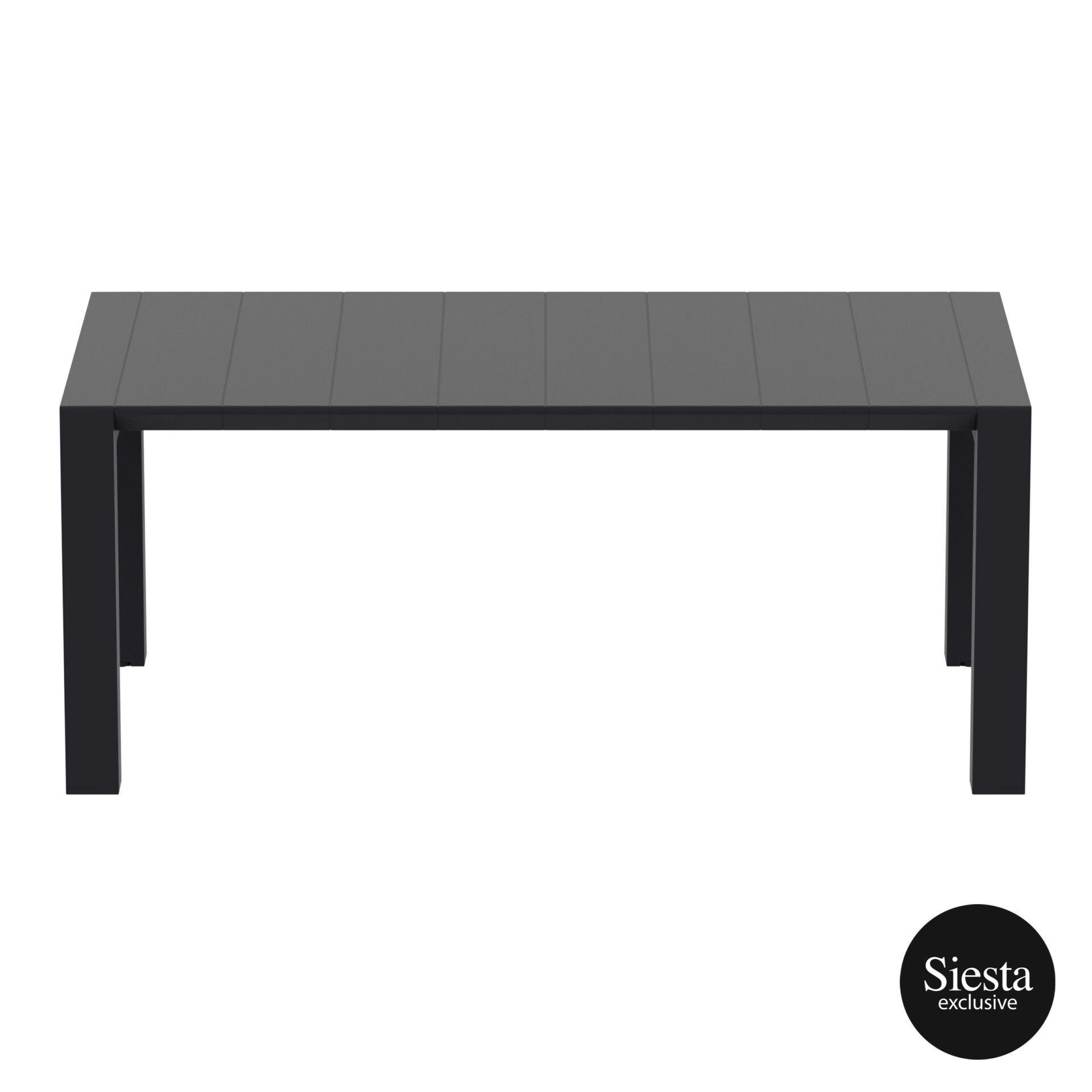 002 vegas table medium 180 black long edge