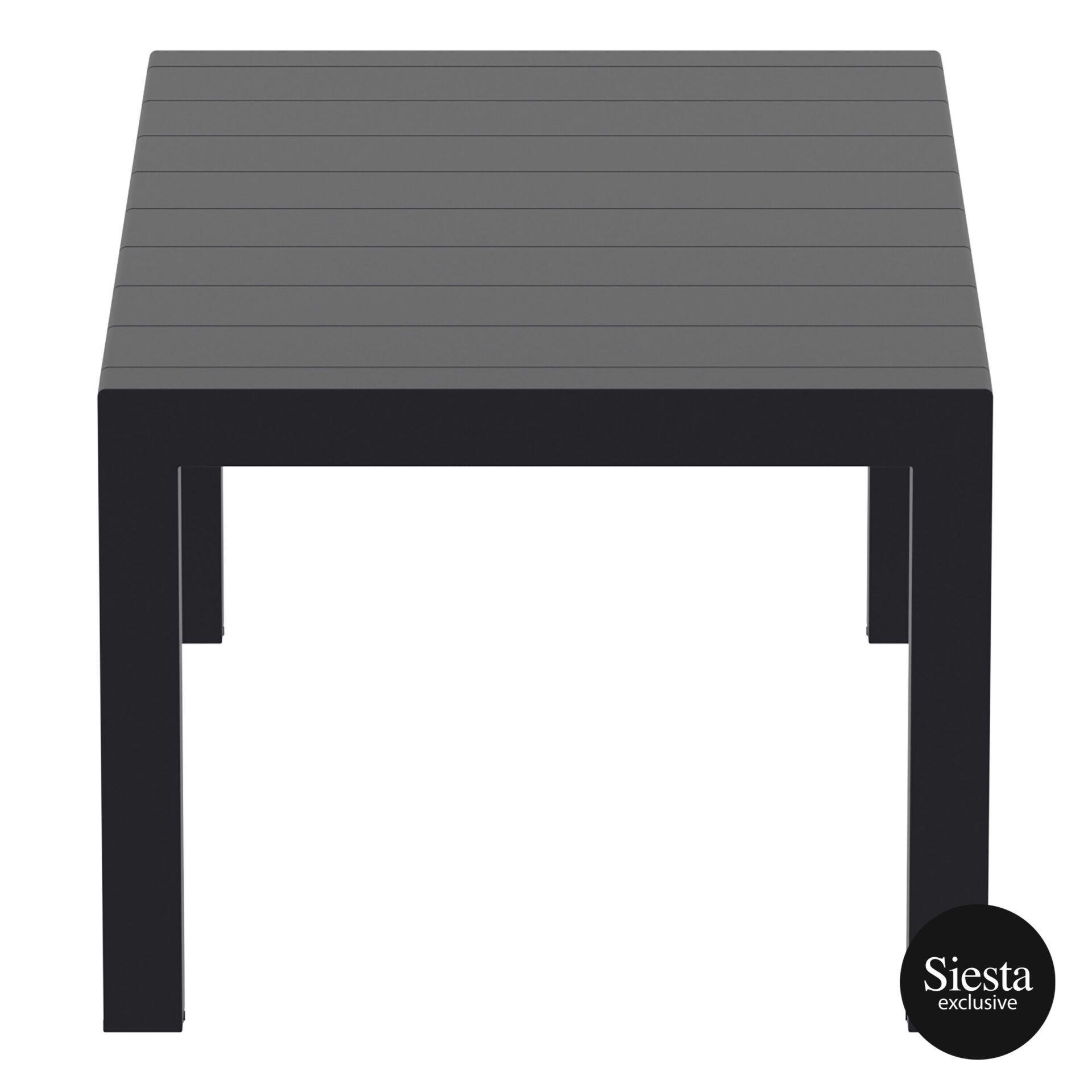 003 vegas table medium 180 black short edge