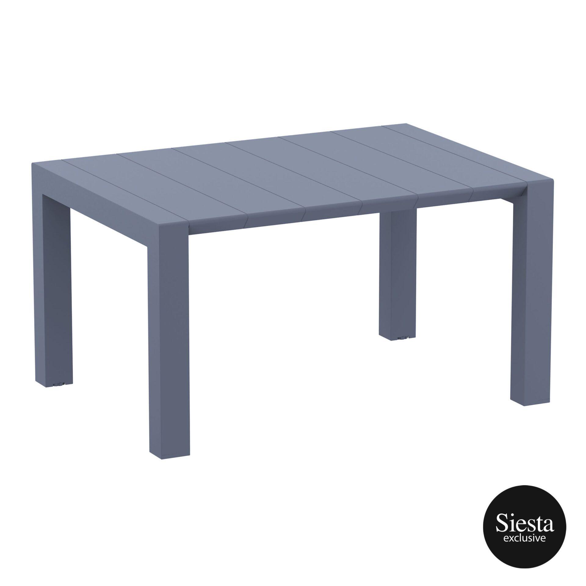006 vegas table 140 darkgrey front side