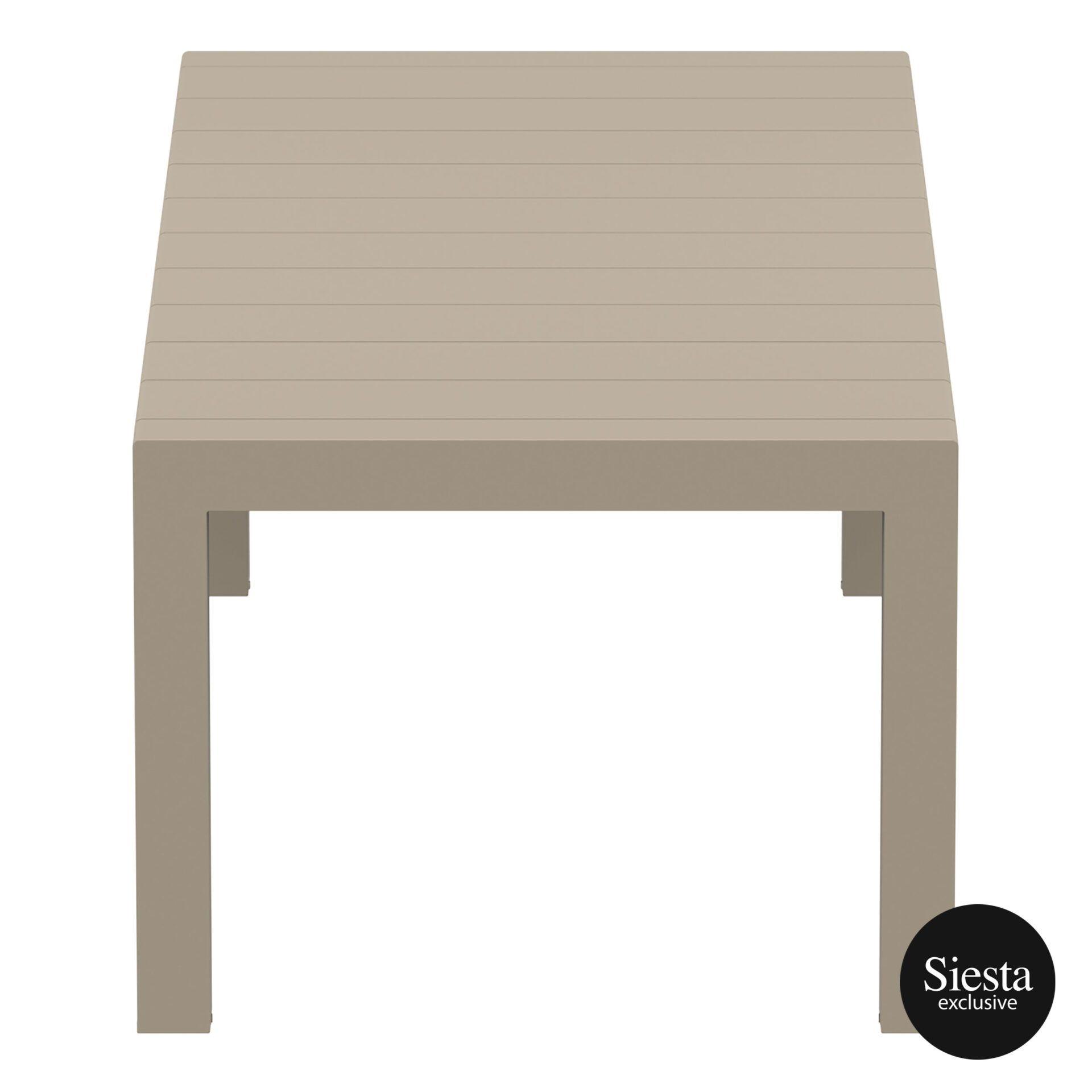 012 vegas table medium 220 taupe short edge