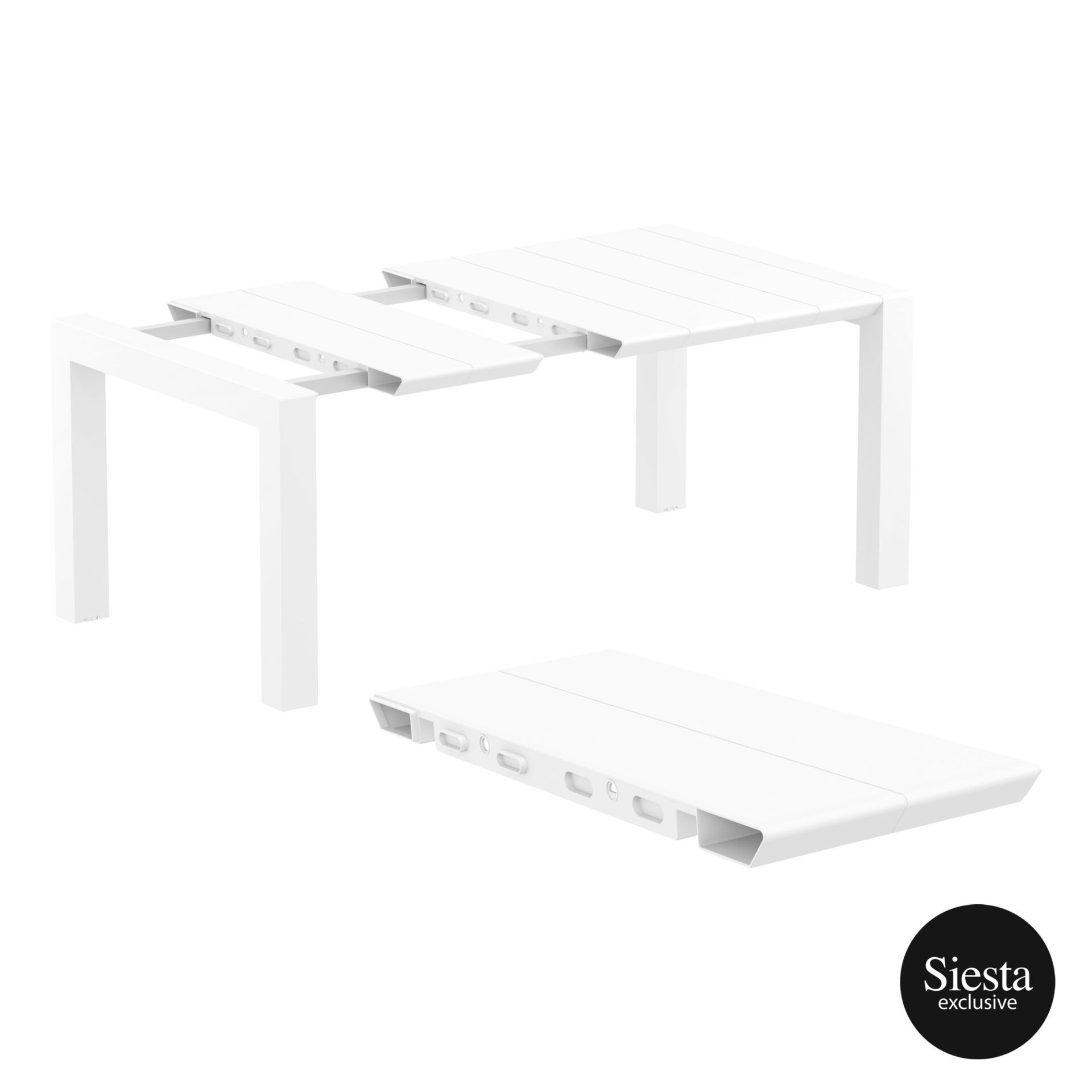 013 vegas table 140 white extension part