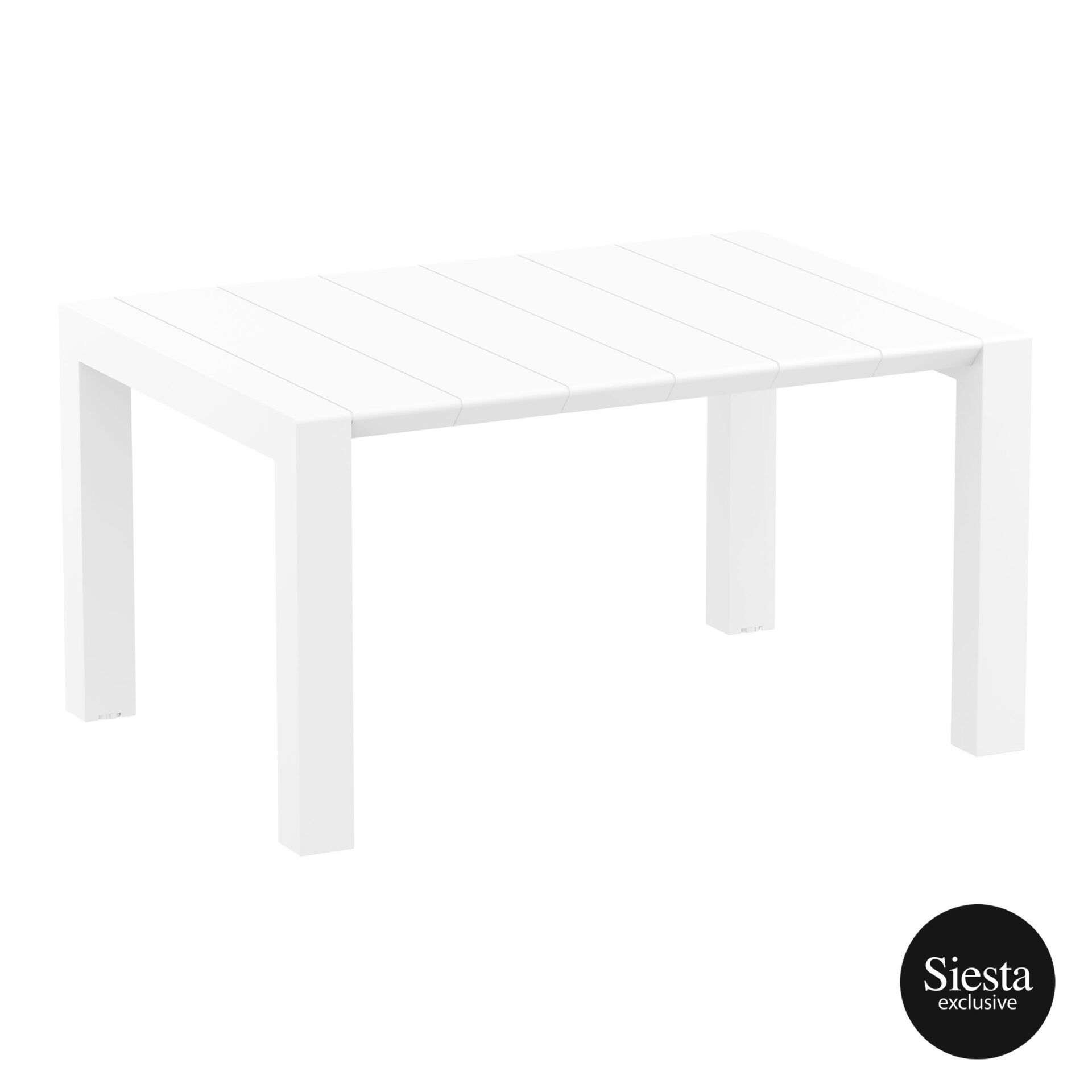 014 vegas table 140 white front side