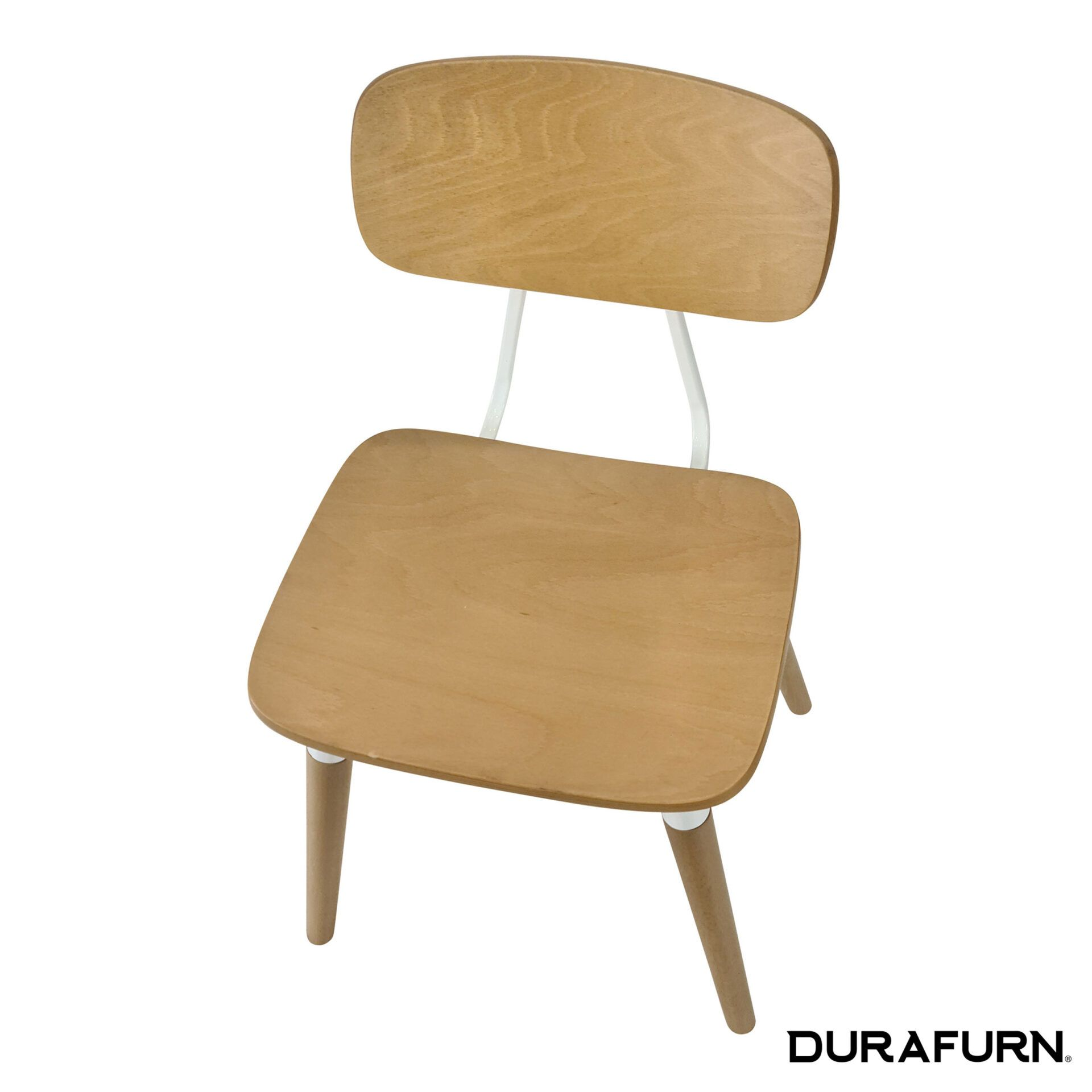 Felix Chair Natural White top angle