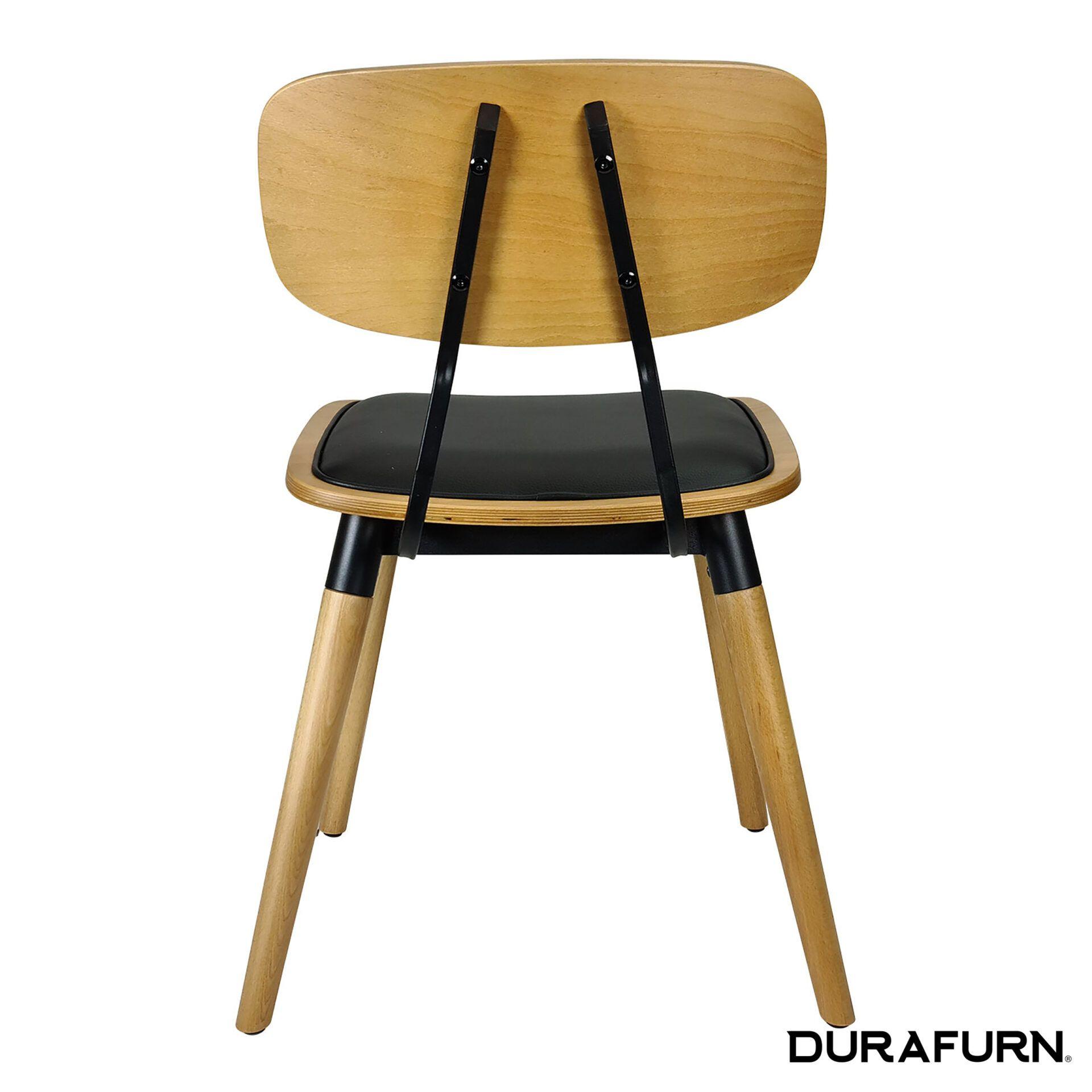 Felix Chair Natural black uph back 1