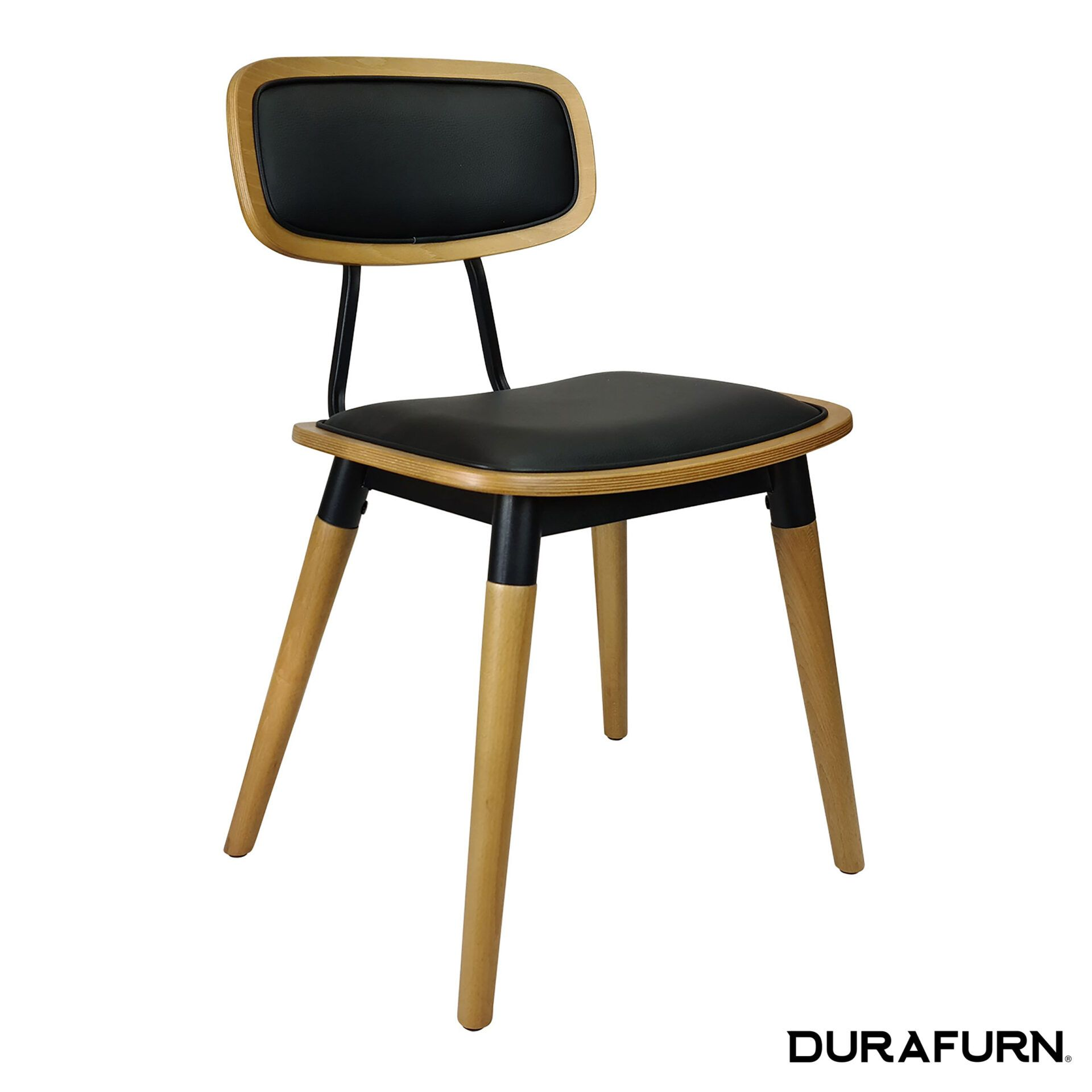 Felix Chair Natural black uph front side
