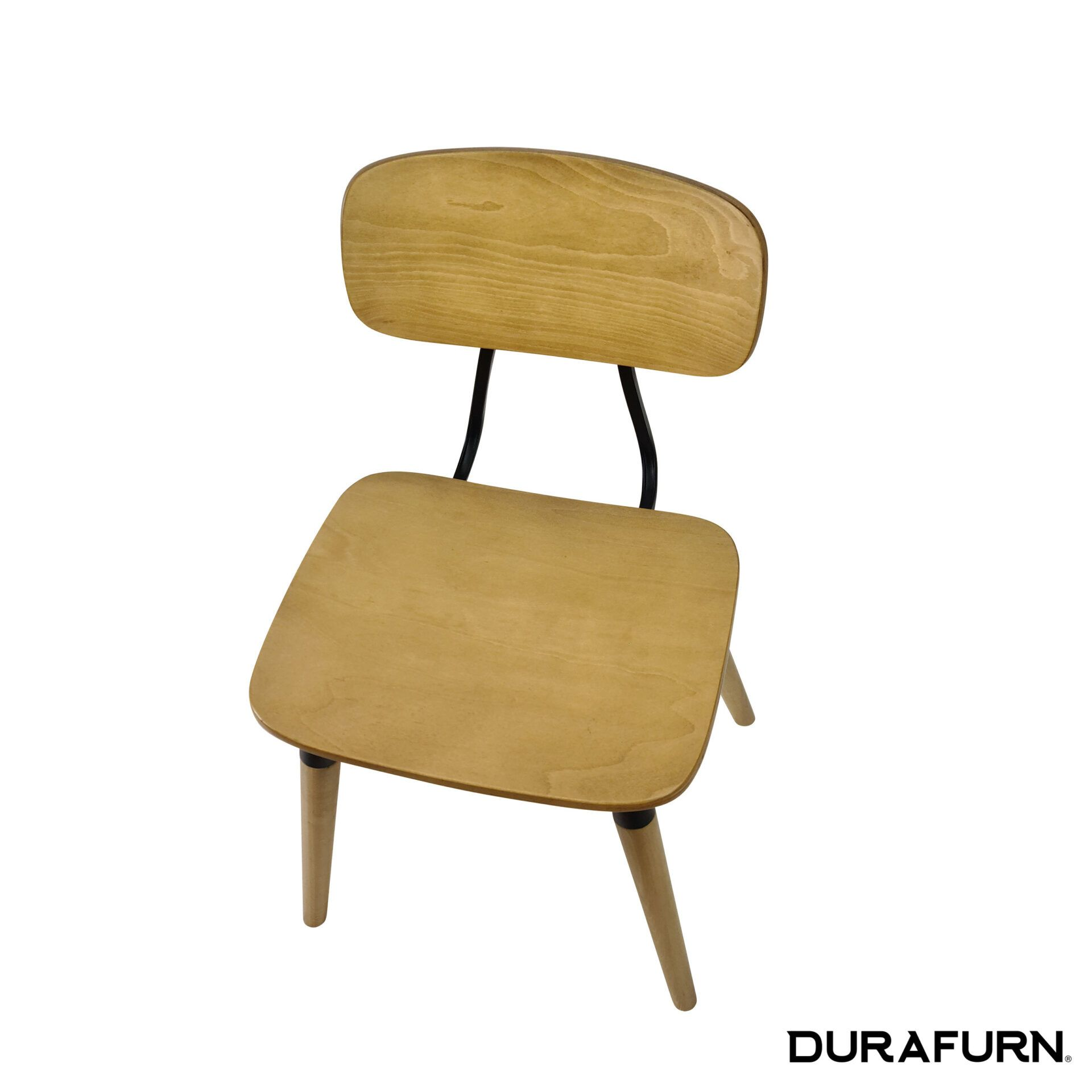 Felix Chair Natural black.top angle 1