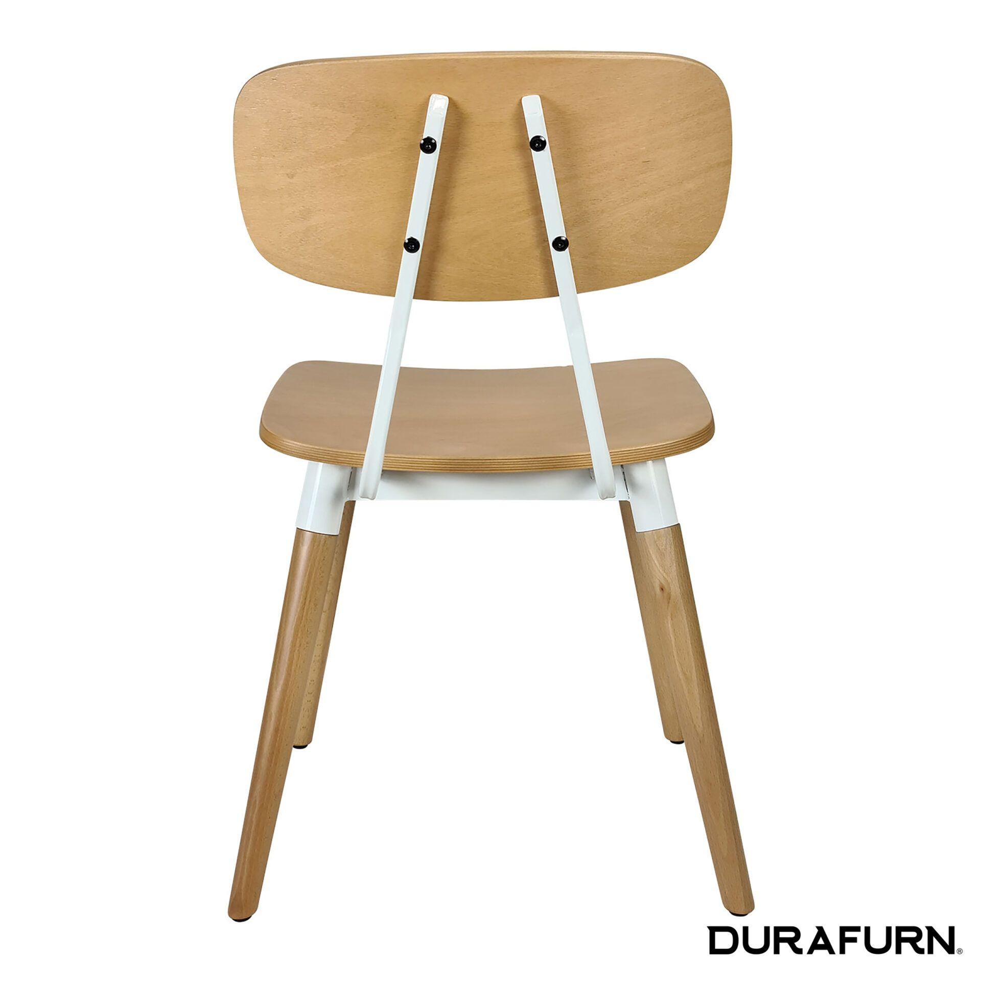 Felix Chair Natural white back