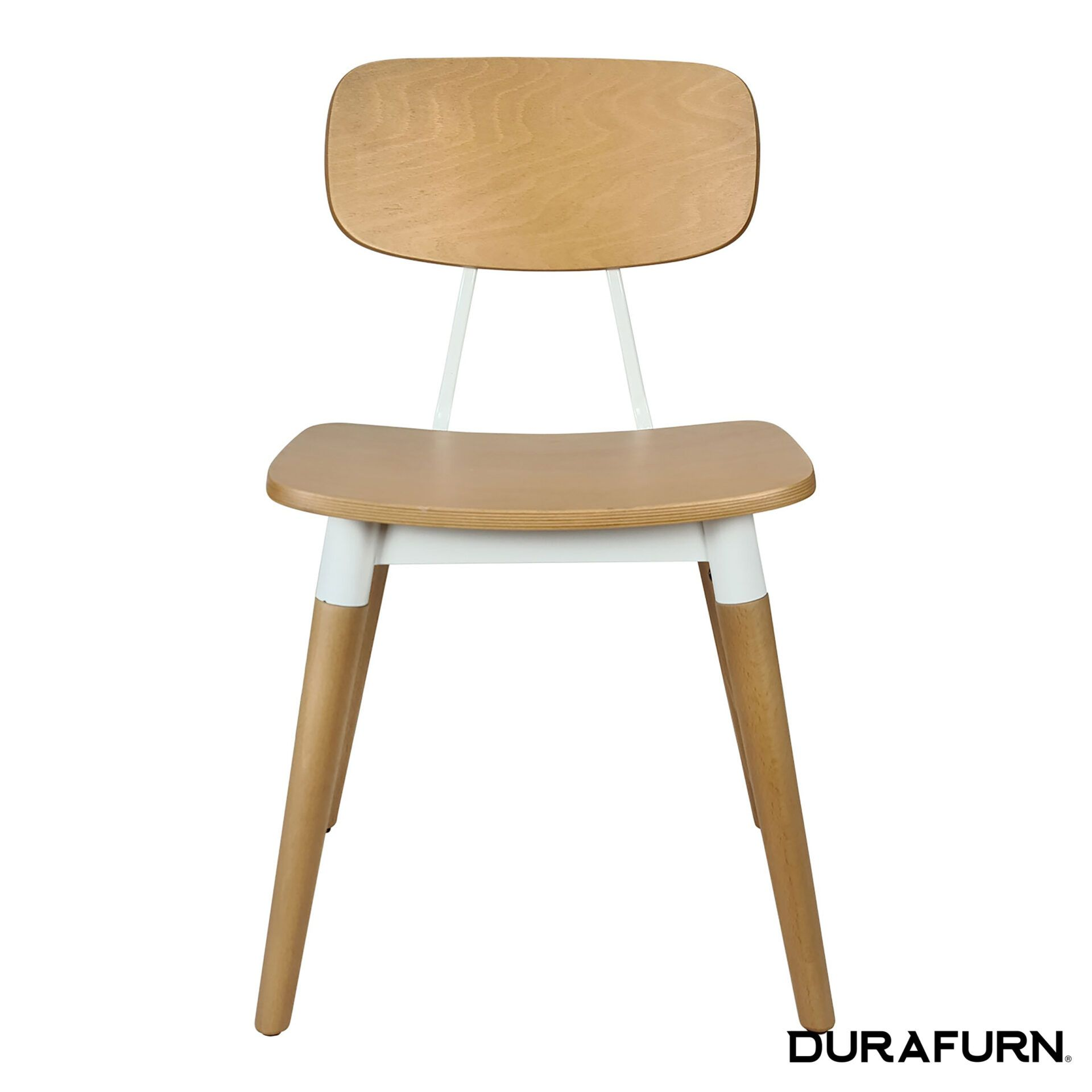 Felix Chair Natural white front