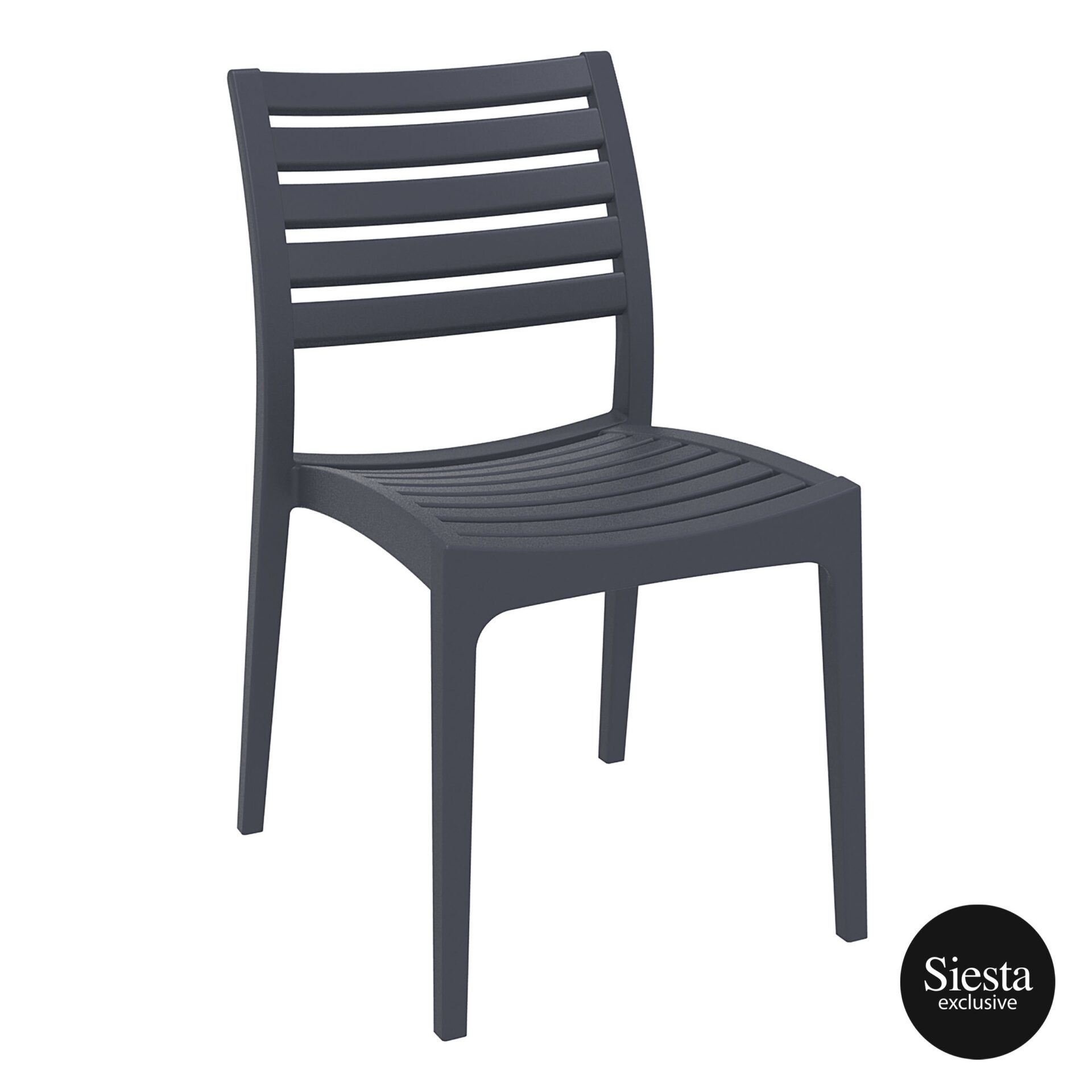 Outdoor Ares Chair darkgrey front side