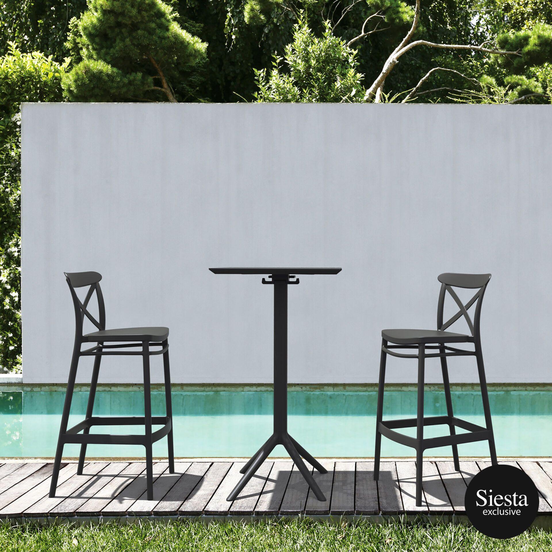 839 cross bar 75 sky folding table bar 60