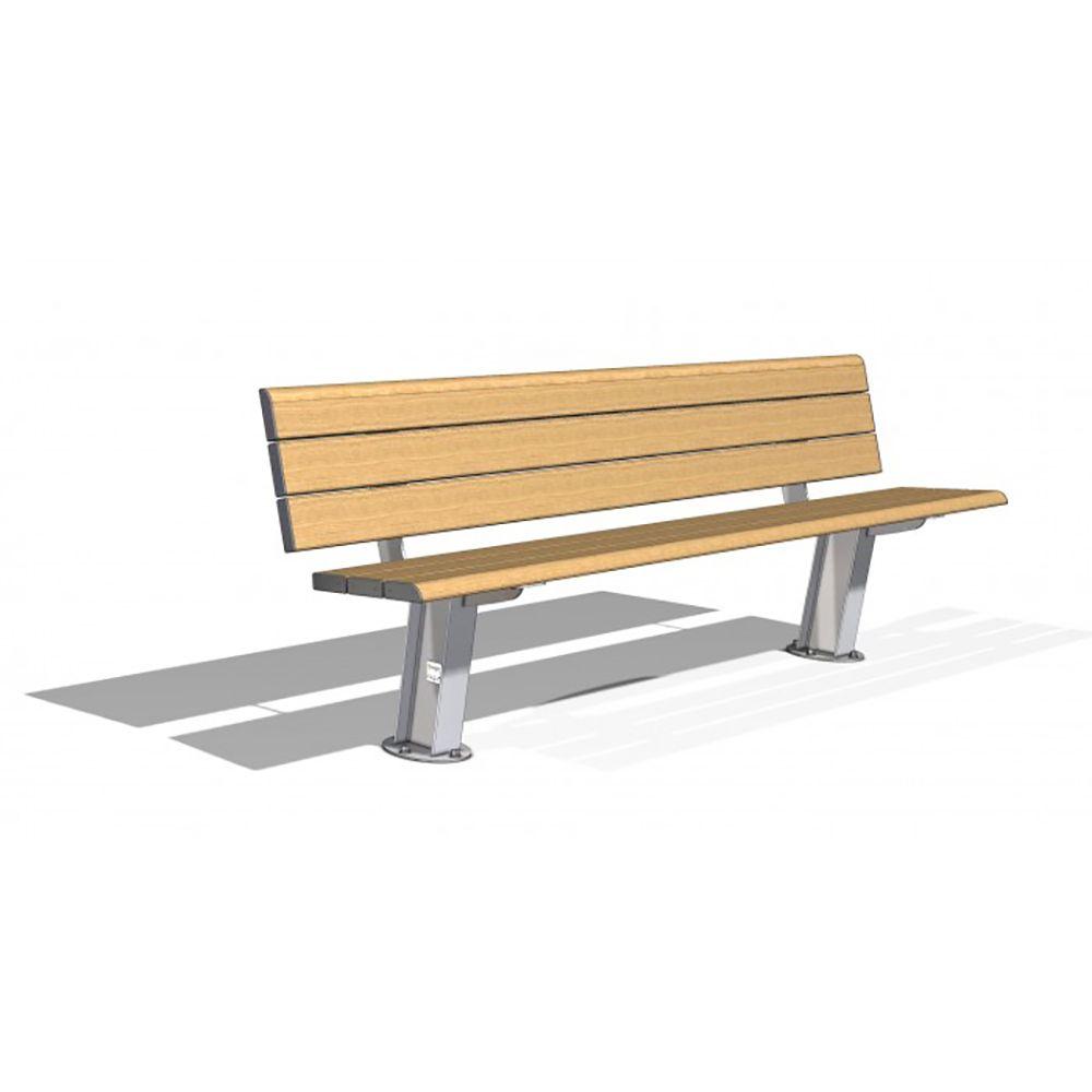 APS SM TIM 001 DELTA PARK SEAT TIMBERIMAGE