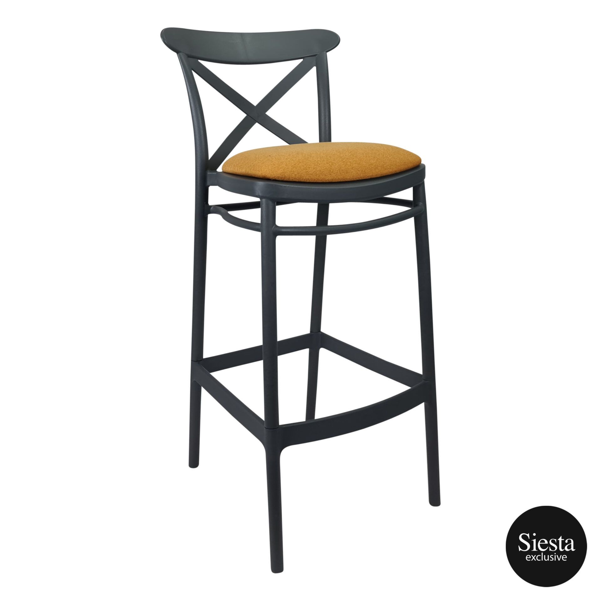 Cross Barstool 75 Anthracite c3a