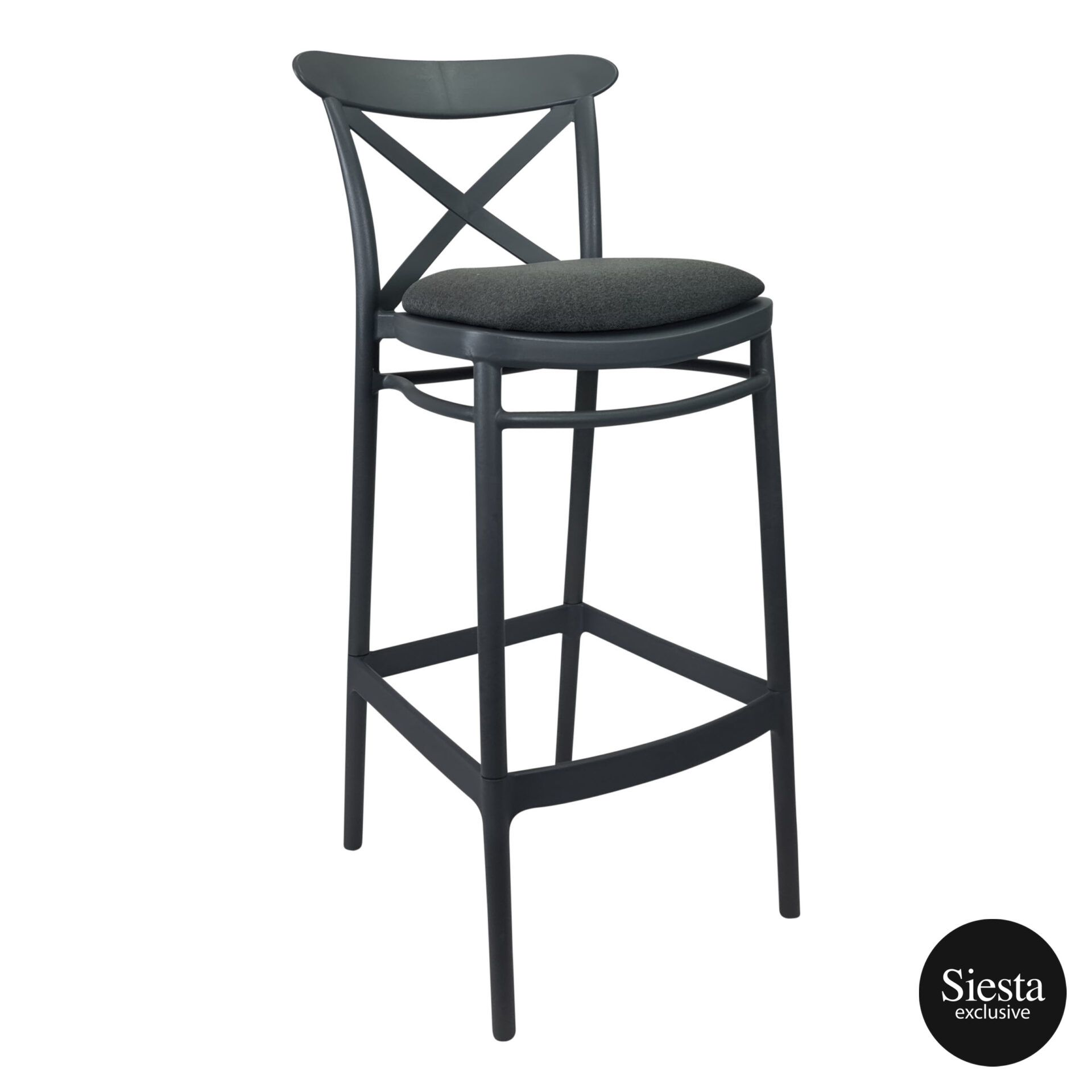 Cross Barstool 75 Anthracite c4a