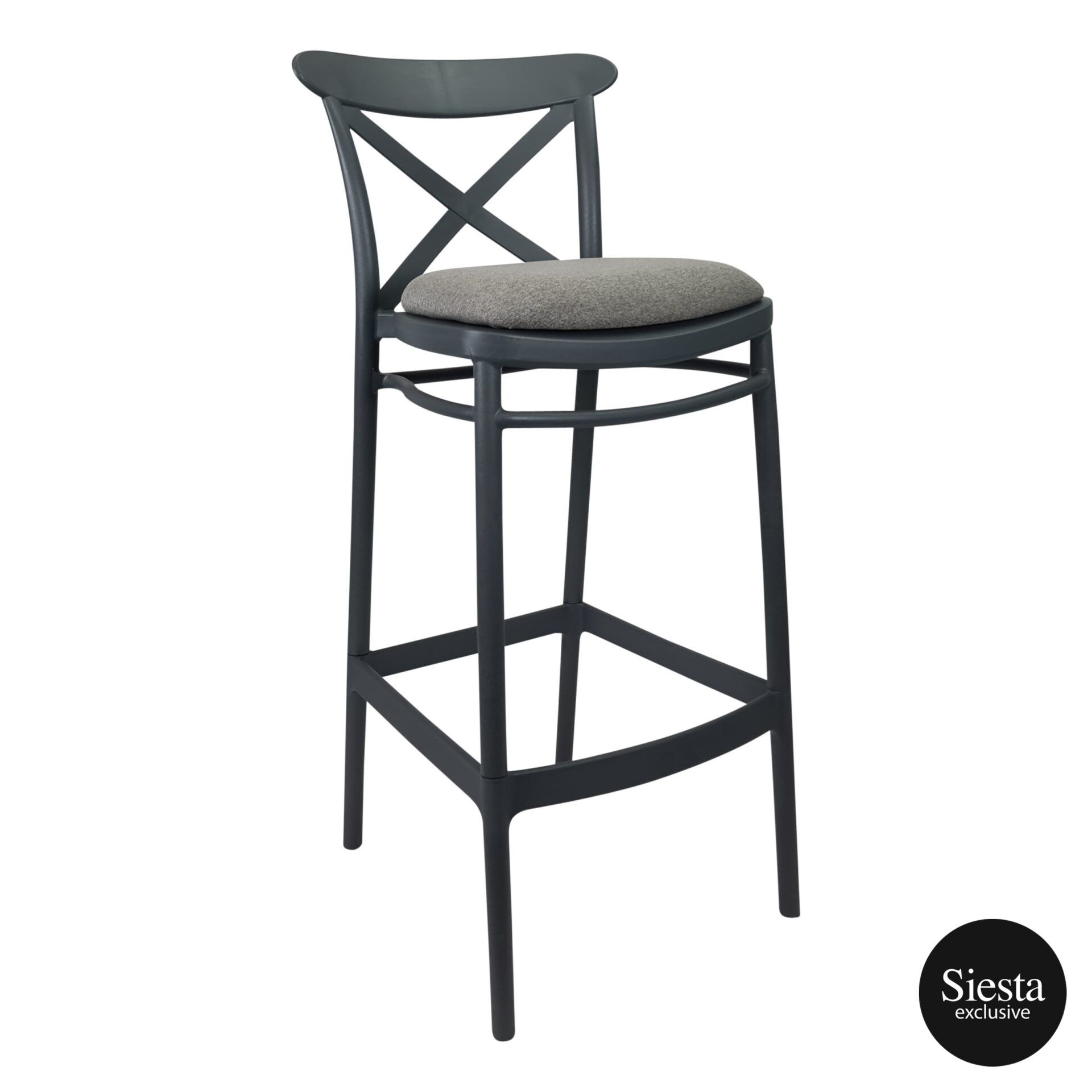 Cross Barstool 75 Anthracite c5a