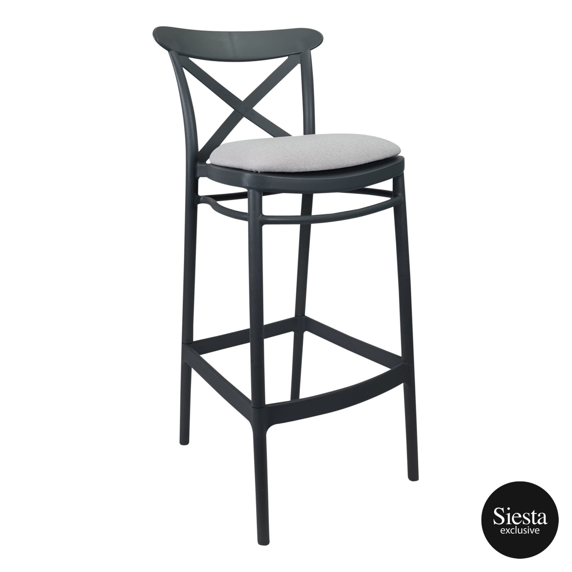 Cross Barstool 75 Anthracite c7a