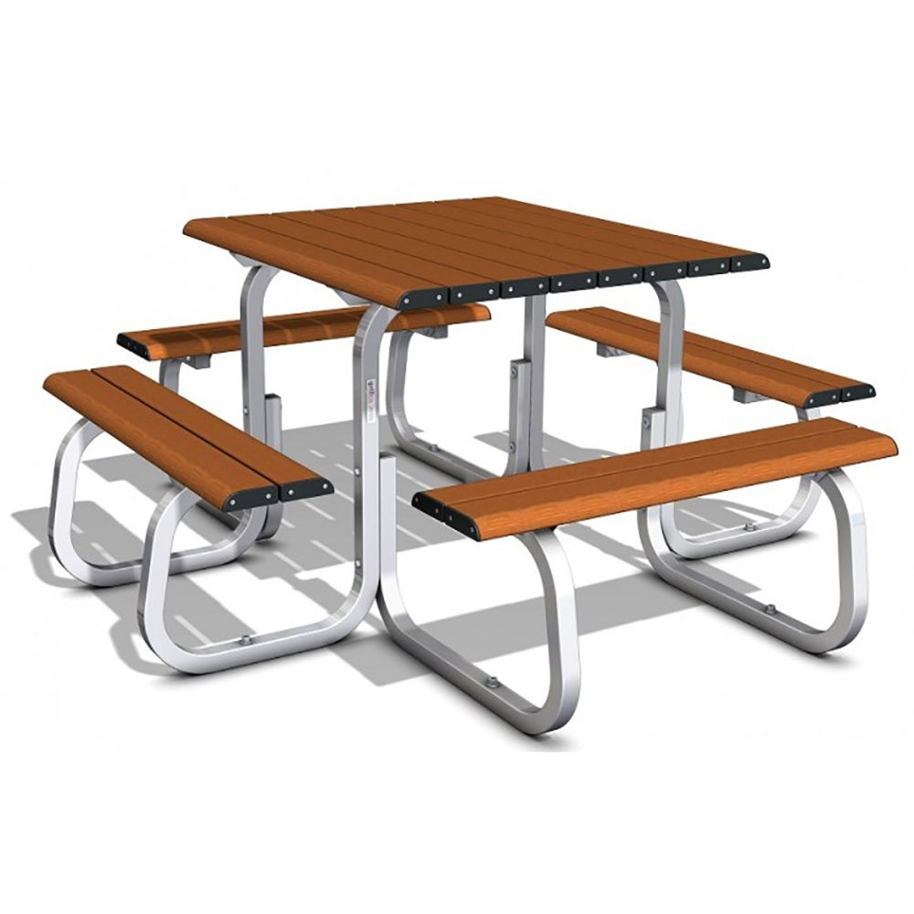 MTS SM TIM 005 ALFRESCO 8SS TABLE SETTING TIMBERIMAGE