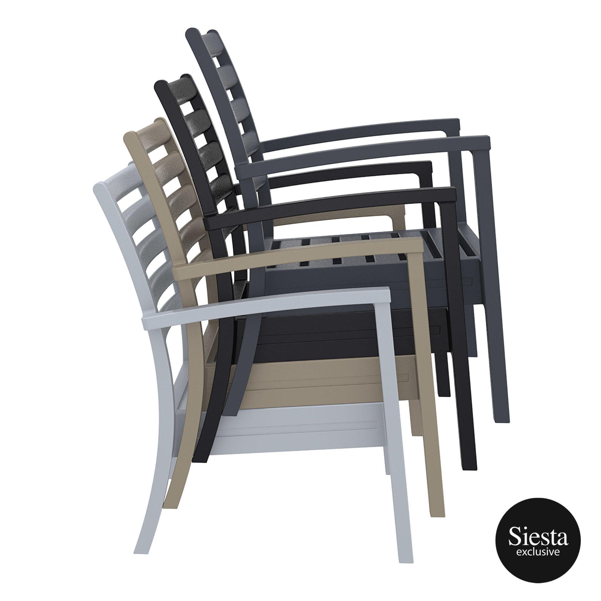 dining artemis armchair xl stack