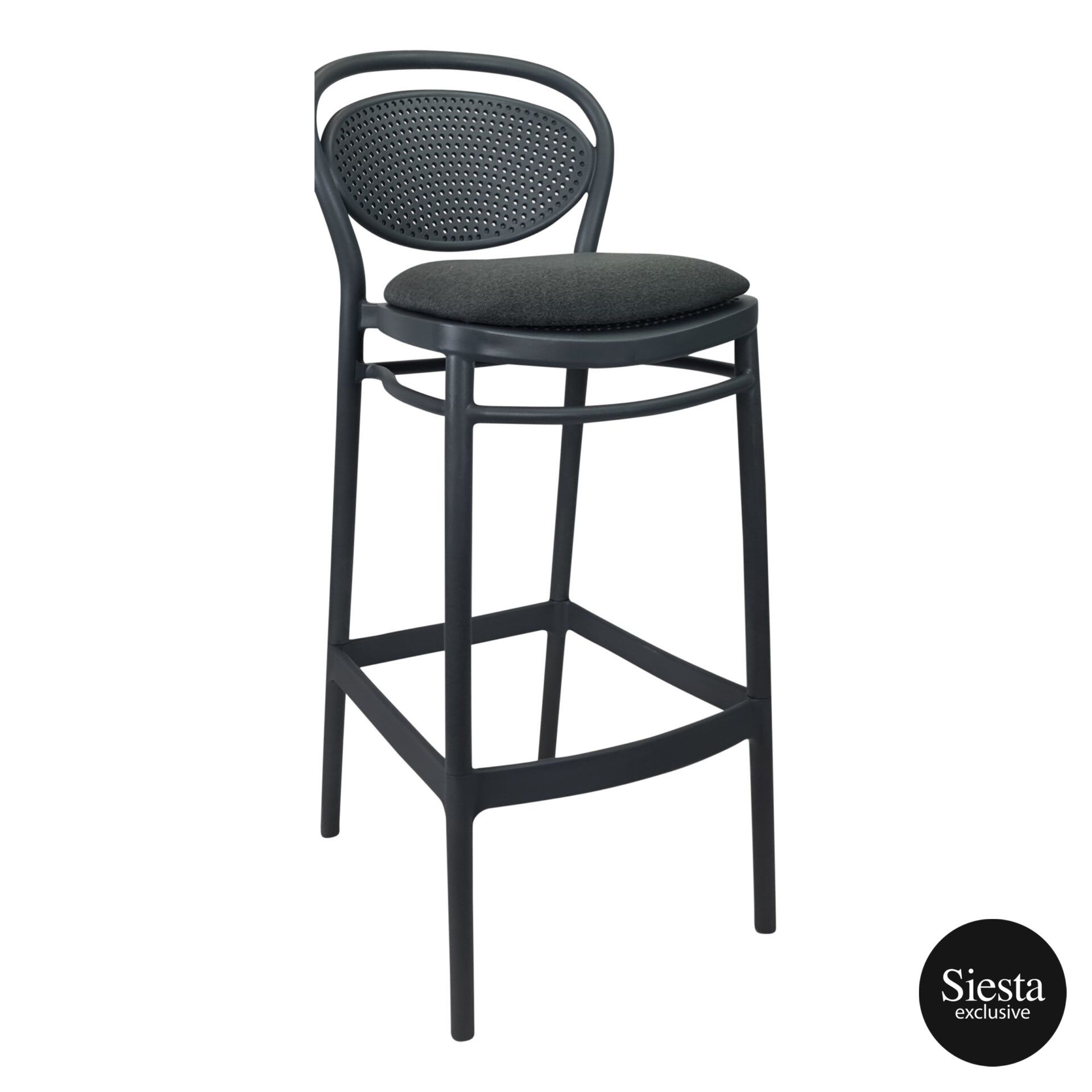 marcel barstool 75 anthracite c4a