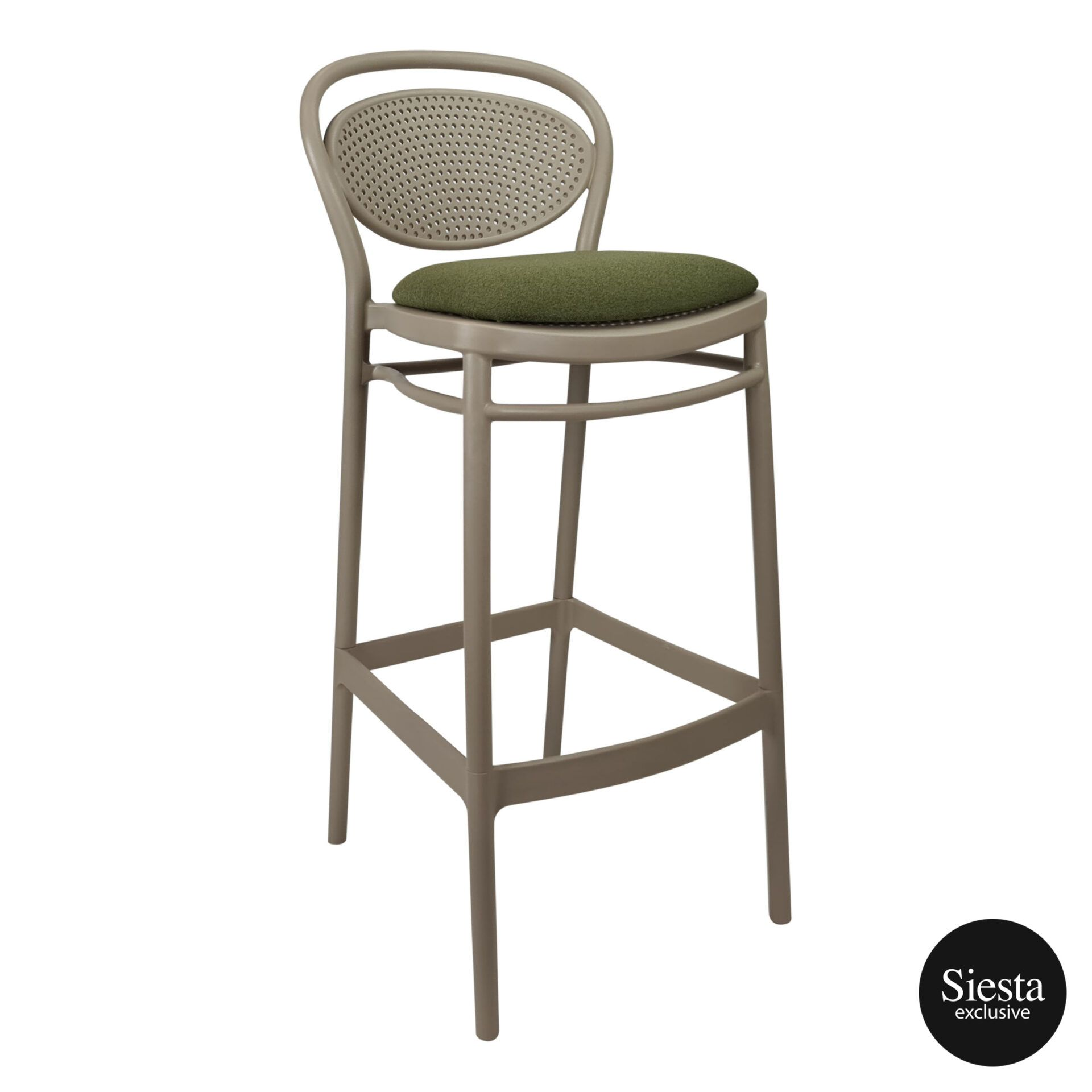 marcel barstool 75 taupe c1a
