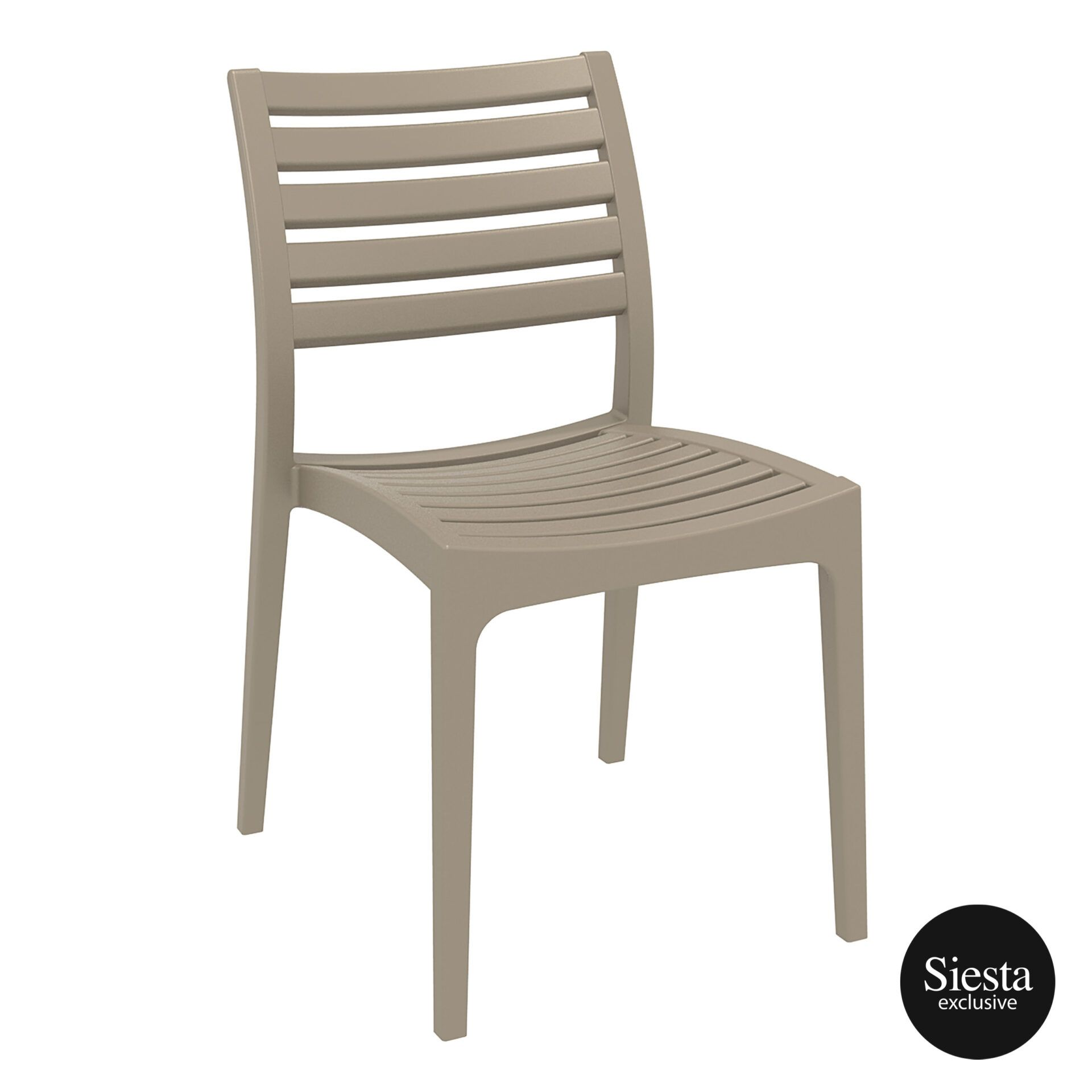 outdoor ares chair dovegrey front side