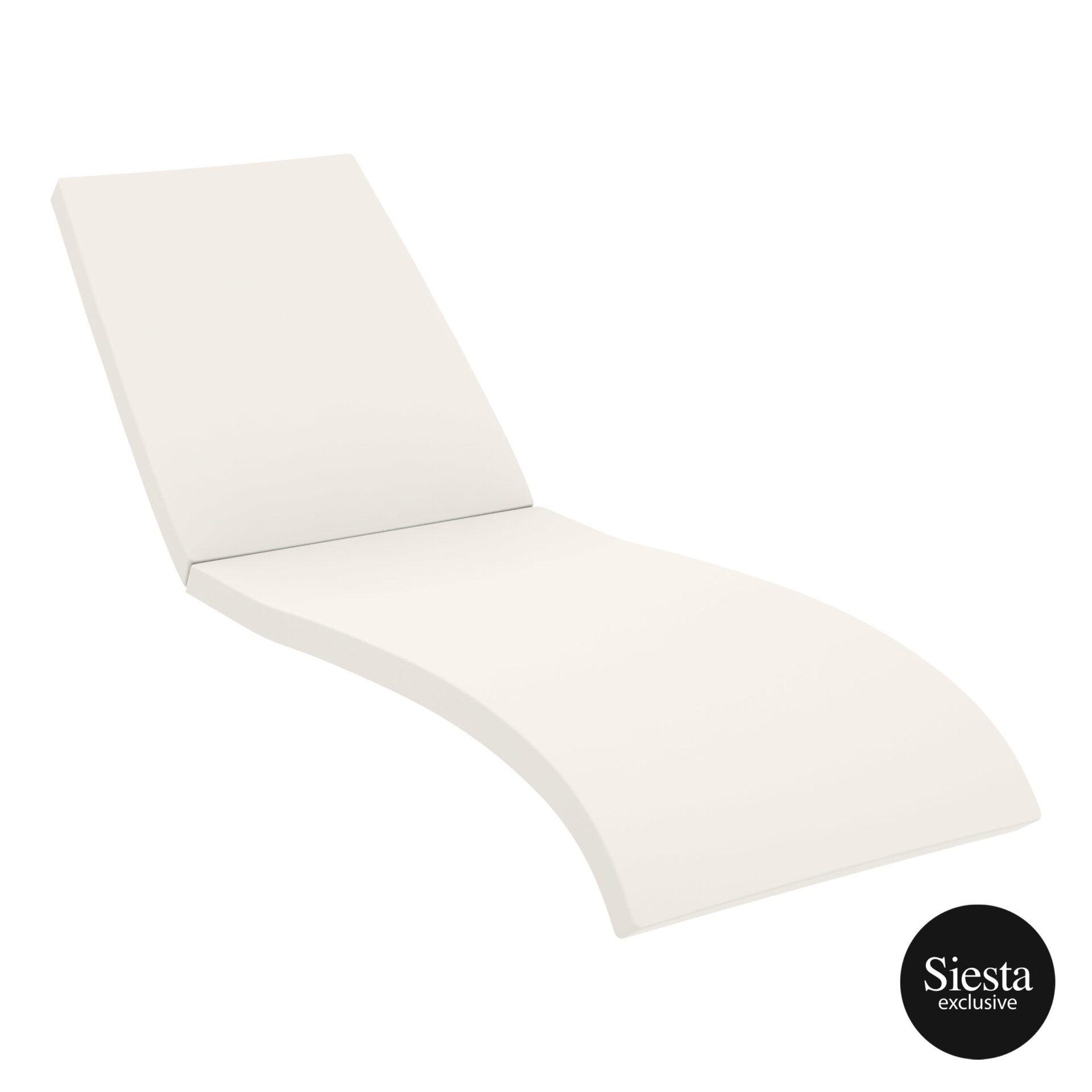 outdoor resin rattan fiji sunlounger cushion cushion