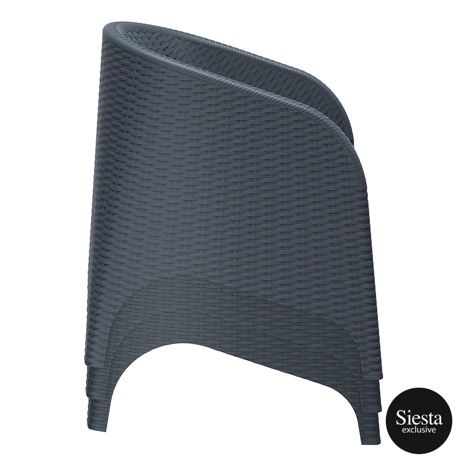 resin outdoor aruba armchair stack
