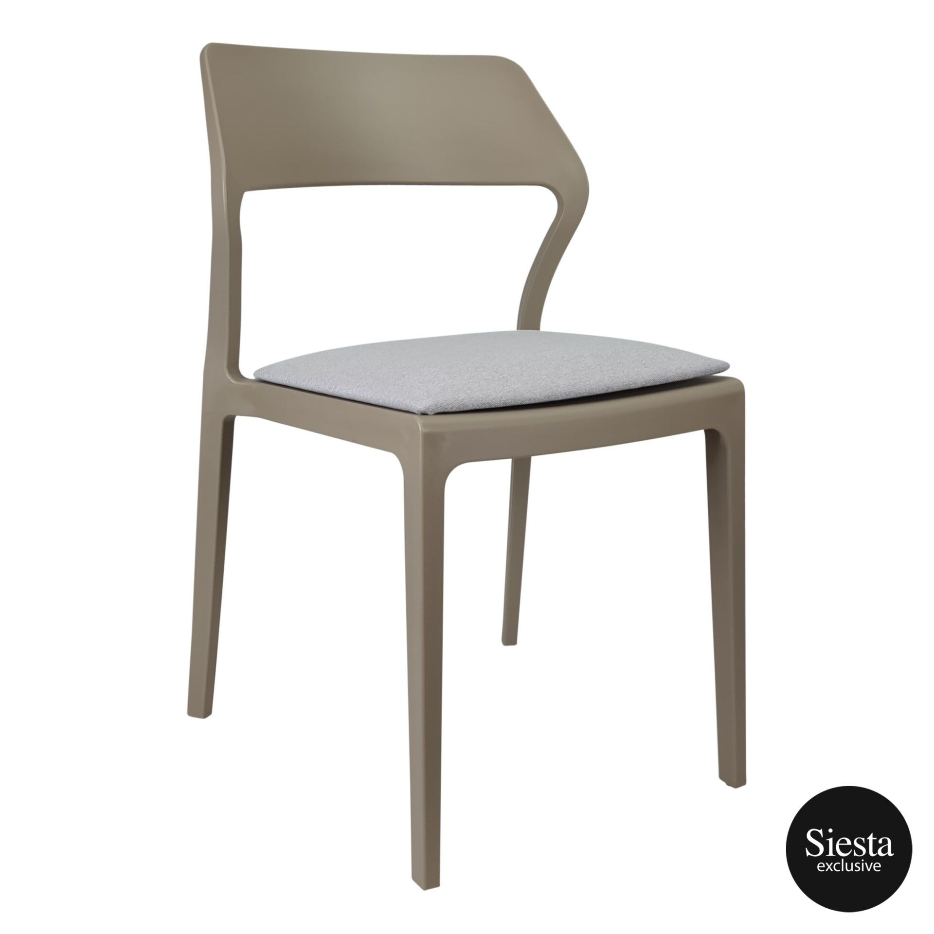 snow chair taupe c5a